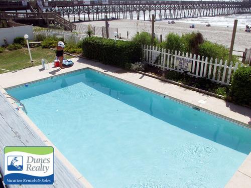 Dunes realty garden city beach rental duneside iii 105 for Garden city pool