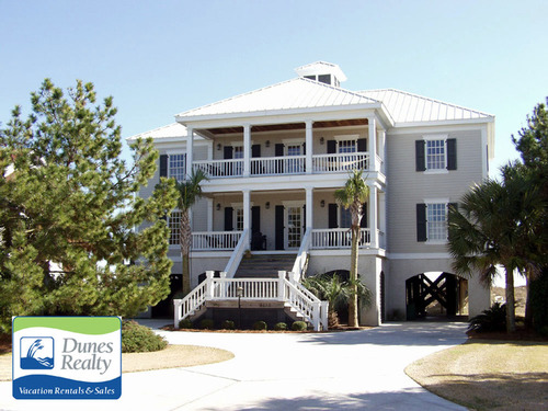 Ocean Front Inlet Harbor Luxury Rental The Beach House Myrtle