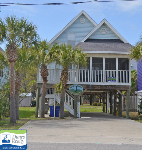Beach Houses For Rent In Ocean City: Myrtle Beach Pet Friendly Rentals