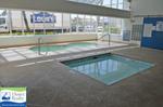 Indoor hot tub and kiddie pool