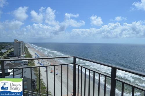 garden city beach rental condo surfmaster i penthouse 12a