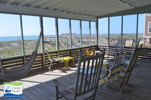 Screened Porch View