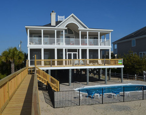 Garden City Beach Rental Beach Home All Aboard Myrtle