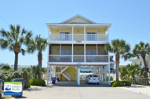 Garden City Beach Rental Beach Home Amazing Grace