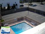 Pool/Parking Area