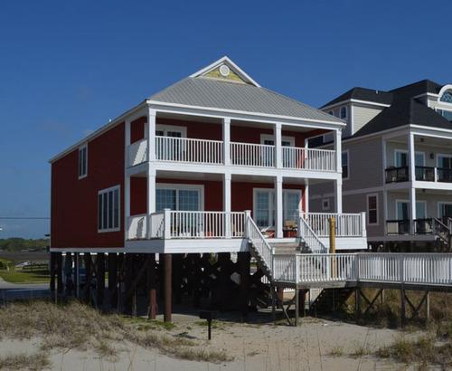 myrtle beach oceanfront rentals garden city beach