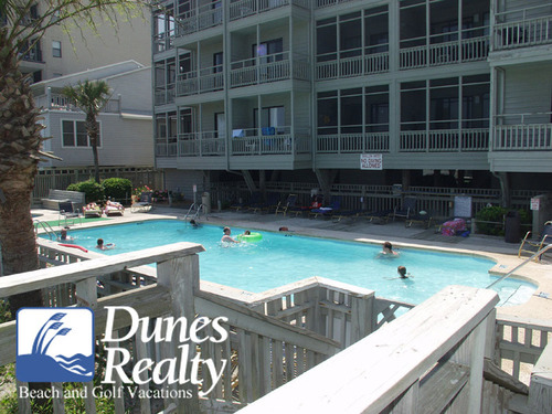 Dunes realty garden city beach rental ocean cove 103 for Garden city pool