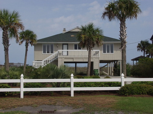 Garden City Beach Rental Beach Home Gray Lady Myrtle